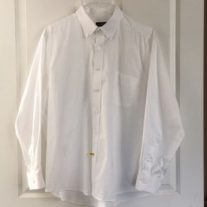 Men's Club Room pinpoint dress shirt.